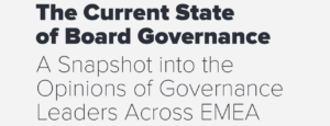 The Current State of Board Governance in EMEA